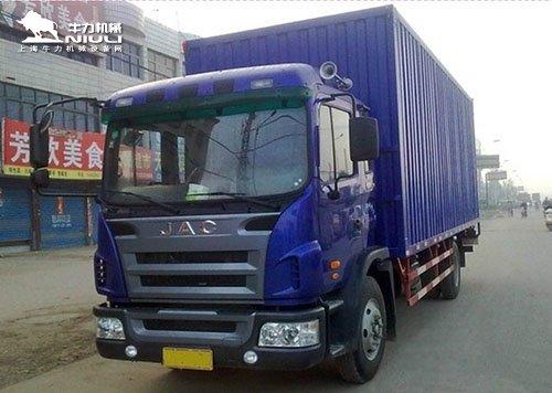 7.6米厢式货车尾板尺寸安装 报价图片